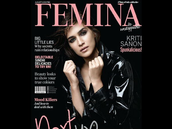 MOST READ: Spunkalicious: Kriti Sanon Looks Super Hot On The Latest Cover Of Femina; CHECK IT OUT!