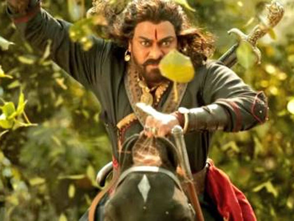 Chiranjeevi's Sye Raa Has Tougher Hurdles To Cross? A Big Competition On Cards!