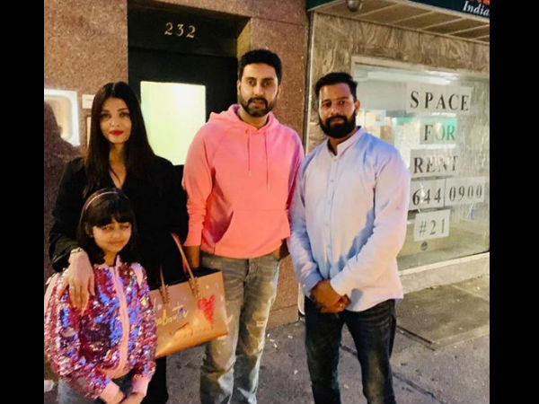 Aishwarya Rai Bachchan Goes UNRECOGNIZABLE In New York? Roams Around With Aaradhya & Abhishek [PICS]