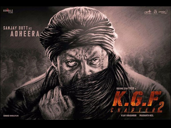 KGF Chapter 2 Unveils Sanjay Dutt's First Look As Adheera! Well-Guarded Secret Finally Revealed