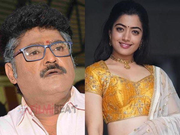 Jaggesh Reacts To Rashmika's Comment
