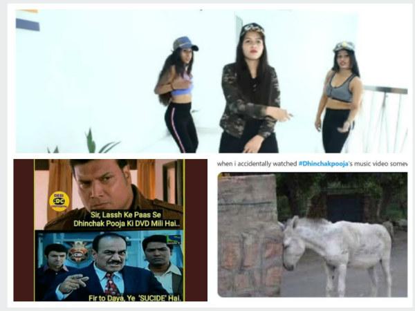 Dhinchak Pooja & Her New Song 'Naach Ke Paagal' Are Trending; Tweeples' Reaction Is Hilarious!