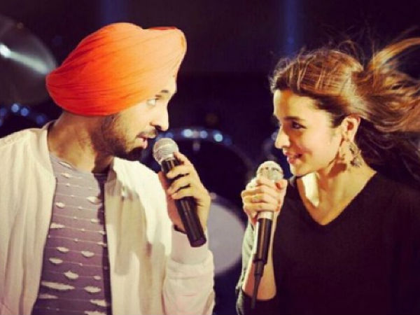 Is Alia Bhatt The Reason Why Diljit Dosanjh Has Stopped Attending Bollywood Parties?