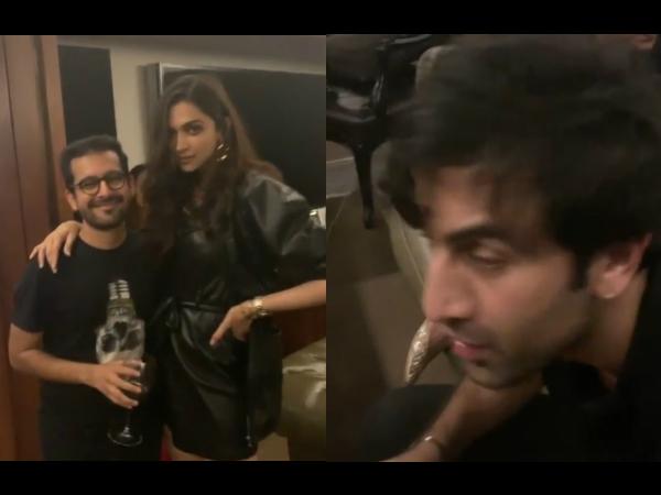When Karan Johar PARTIED Hard With Ranbir, Deepika, Shahid & Others! Watch Video Here