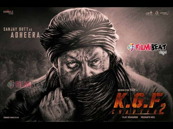 Adheera's Face Tattoo In KGF Chapter 2 Reveals Something Important! Sanjay Dutt's Ink Decoded