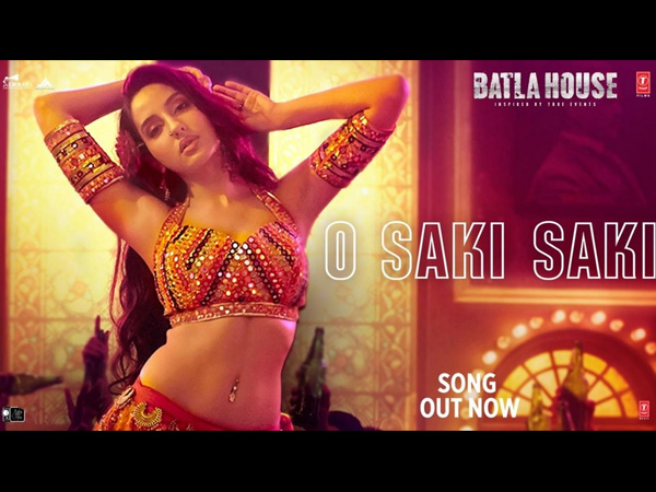 Batla House Song O Saki Saki: Nora Fatehi Steals The Show With Her Sizzling Dance Moves
