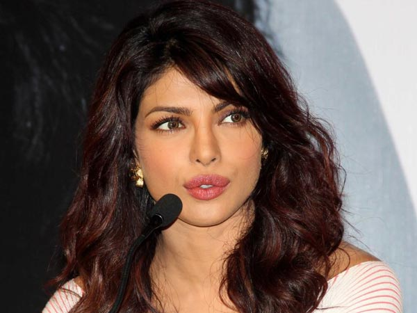 Speaking About Priyanka Chopra