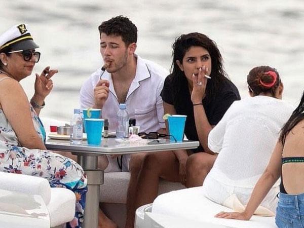 Priyanka Chopra Gets Trolled For Smoking; Trolls Ask Asthma Sirf Diwali Mein Hota Hai?