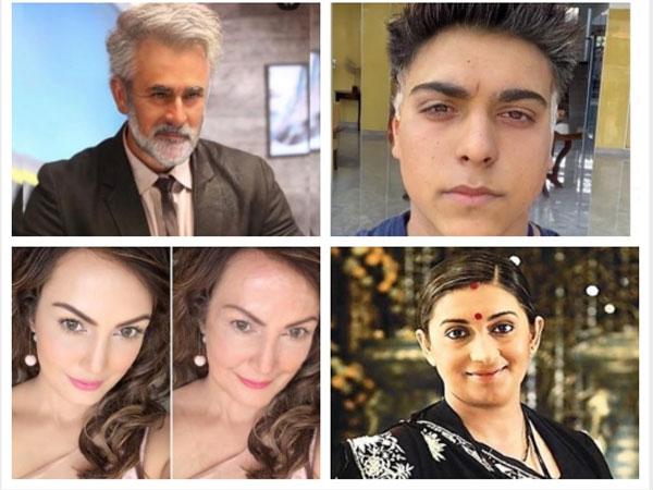 MUST SEE! Pearl V Puri, Karan Patel, Ram Kapoor & Other TV Actors Take Up #FaceApp Challenge!