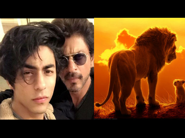 SRK On Working With His Son Aryan In The Lion King