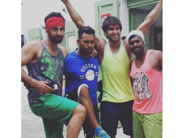 TBT Pic: Ranveer Singh & Ranbir Kapoor Seen Chilling Together On Tamasha Sets Without Deepika!