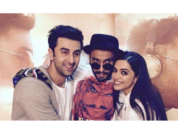 Deepika & Ranveer Share A Strong Friendship With Ranbir