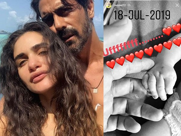 Arjun Rampal Shares A Cute Glimpse Of His Baby Boy & It Will Melt Your Hearts!