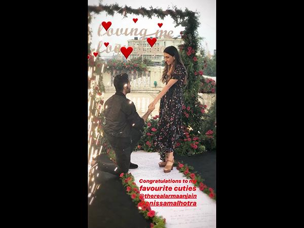 Armaan Jain gets engaged to longtime girlfriend Anissa Malhotra