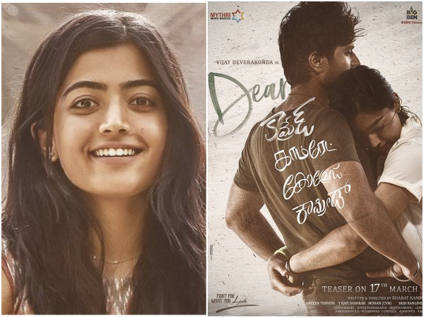 Rashmika Mandanna Trashed For 'Anti-Kannada' Comments; Gives Rise To Boycott Dear Comrade Movement