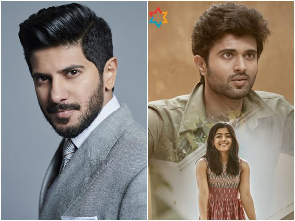 Dulquer Salmaan Croons For Vijay Deverakonda's Dear Comrade; The New Song Is Out!