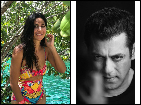 Katrina Kaif Is All Smiles In A Colourful Bikini; Salman Khan Goes All Philosophical