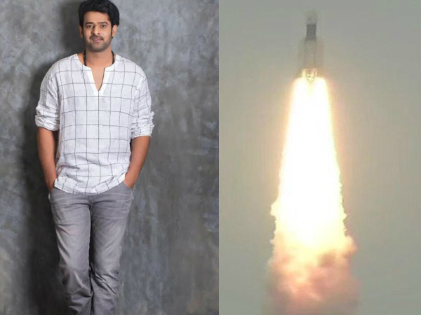 ISRO's Chandrayaan 2 Named After Prabhas's 'Baahubali'; Actor Expresses Gratitude With This Post!