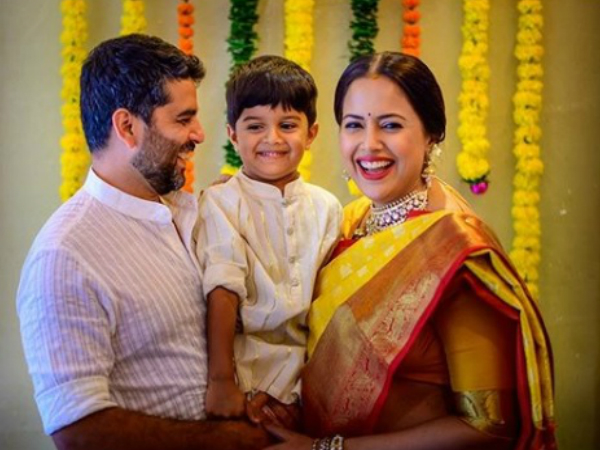 Sameera Reddy & Akshai Varde Become Parents To A Baby Girl