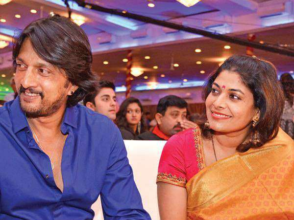 Sudeep Is A Huge Fan Of This Popular Bollywood Actress! Wife Priya Teases Him Publicly