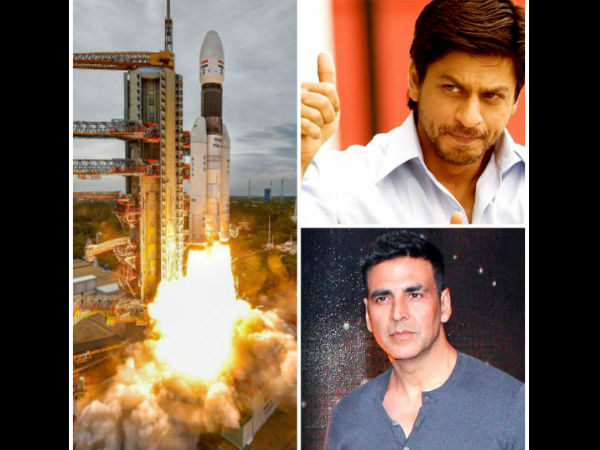 Chandrayaan 2: Bollywood Is Proud; Shah Rukh Khan, Akshay Kumar Congratulate ISRO