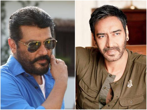 Thala 60: Ajay Devgn To Play Antagonist In The Ajith Kumar Starrer?