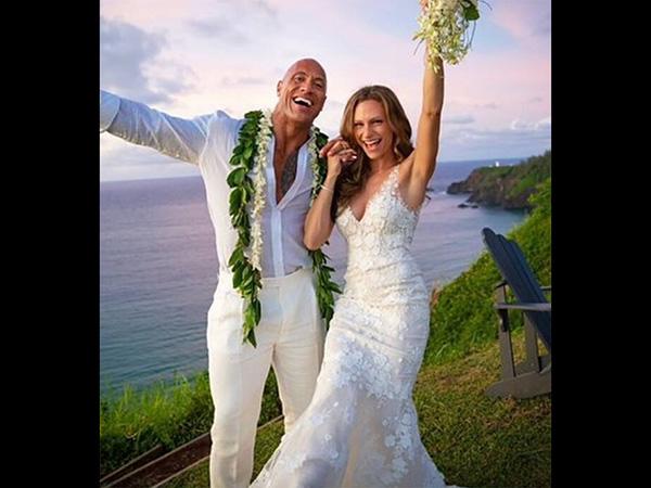Dwayne Johnson Marries Longtime Girlfriend Lauren Hashian