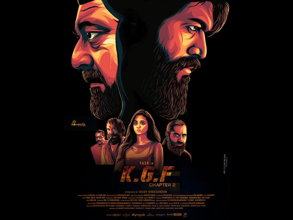 KGF Chapter 2's Fan-Designed Poster Goes Viral On Social Media! Predicts Yash & Sanjay Dutt Face-Off