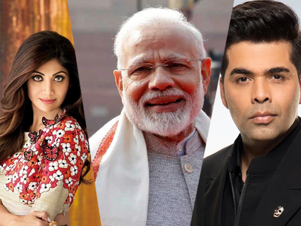 Bollywood Celebs Congratulate Modis 'Fit India Movement