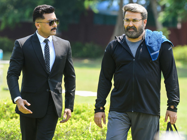 Suriya and Mohanlal's Roles