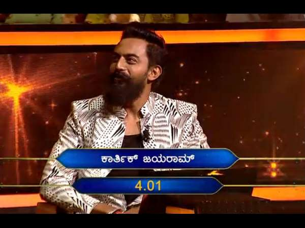 Karthik Jayaram (JK) Loses A Whopping Amount On Kannadada Kotyadhipathy Because Of The Audience!