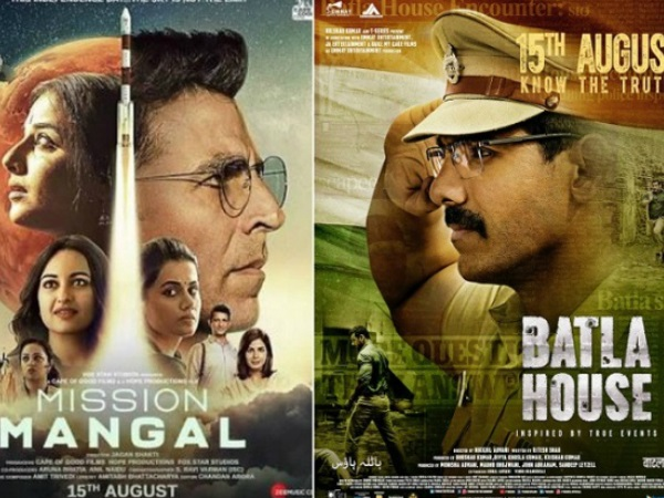 Mission Mangal vs Batla House THIRD DAY Box Office Collections