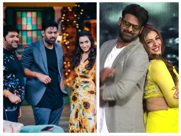 Prabhas & Shraddha Kapoor Promote Saaho On The Kapil Sharma Show & Nach Baliye 9 (PICS)