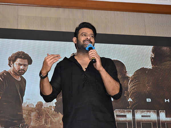 Prabhas Reveals Secret Behind Saaho Title And other Big Moments From Bengaluru Event