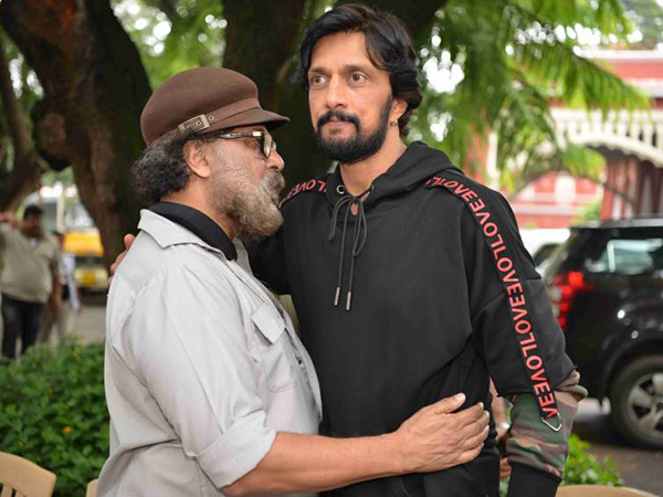 Sudeep Feels Lucky
