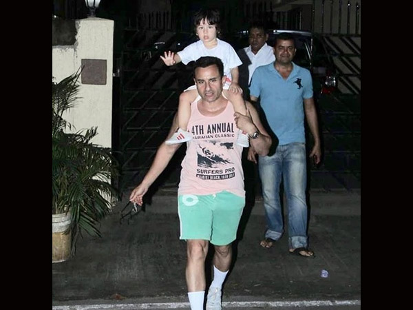 Angry Saif Ali Khan Yells 'ENOUGH' At Paparazzi Who Wouldn't Stop Clicking Taimur's Pictures!