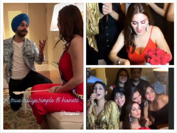 Shraddha Arya Celebrates Birthday With Shivangi, Sana & Others; BF Alam Sings Romantic Shayari