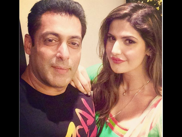 Zareen Khan Chooses To 'Marry' Salman Khan In A Round Of Kill, Marry, Hook Up