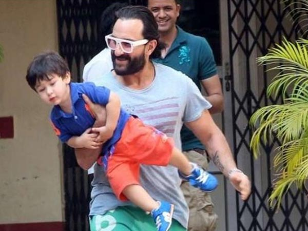 Saif Says His Family Doesn't Believe In Flaunting Their Children