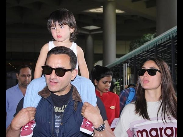 Saif Laughed Off All Rumours About Taimur's Bollywood Debut