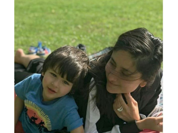 PIC: Taimur Spends Blissful Moments With His Mum, Kareena