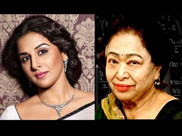 Vidya Is Thrilled About Playing Math Genius Shakuntala Devi
