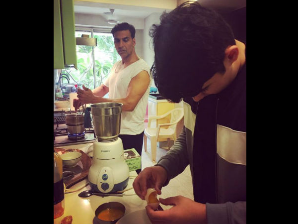 Aarav To Follow Dad Akshay Kumar's Footsteps To Become A Chef? We Have Evidence!
