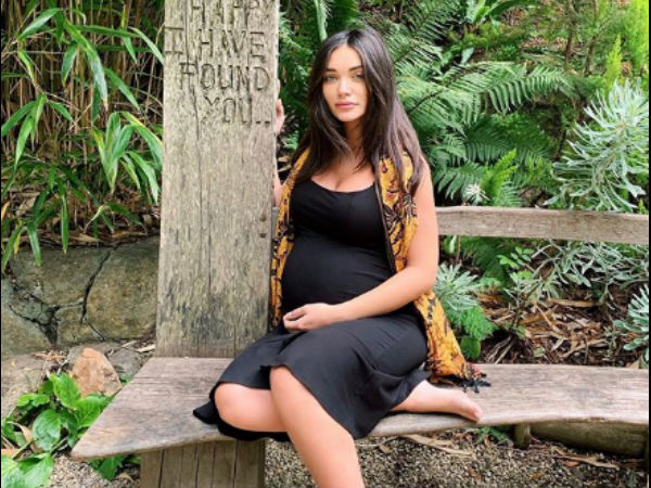 Amy Jackson Looks Serene As She Flaunts Her Baby Bump; Opens Up About Struggles In Third Trimester