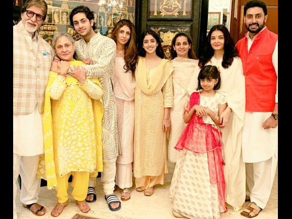 Bachchans Rakhi Celebration 2019 Inside Pictures  Aishwarya
