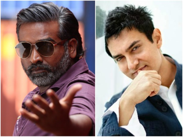 Vijay Sethupathi And Aamir Khan To Join Hands For A Movie!