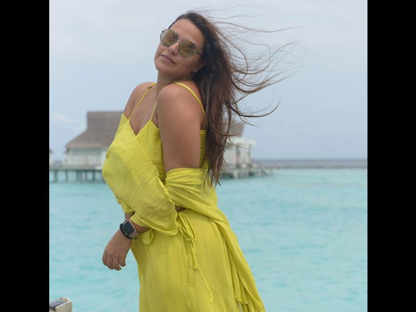 Neha & Angad Honeymooned In Maldives!