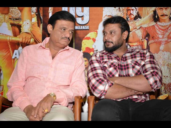 Darshan Says Cinema Is Not A Place For Charity! Wants Kurukshetra To Make Money In Other Languages