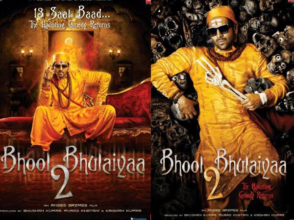 Bhool Bhulaiyaa 2 First Look: Kartik Aaryan Steps Into Akshay Kumar's Shoes As A Ghostbuster!