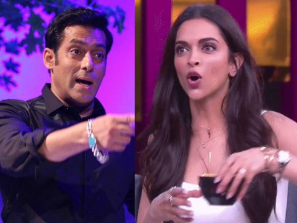 Cold War Brewing Between Deepika Padukone And Salman Khan? Here's Why Bhai Is Miffed!